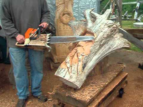 Chainsaw woodcarving for beginners tips tricks electric