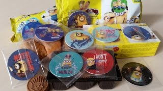 Chipicao Minions Croissant and Biscuits - Despicable Me 7 Days - Minions Play Caps