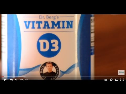 Dr. Berg's Vitamin D3: how to use it