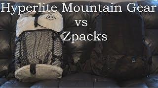 Zpacks Arc Blast vs Hyperlite Mountain Gear Windrider 2400 thumbnail
