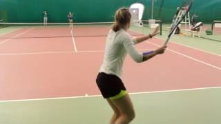 Tennis College Recruiting Video Spring 2017 Isaeva Kseniya