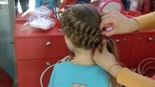 Красивое плетение кос на средние волосы самой себе, девочке пошагово фото и видео