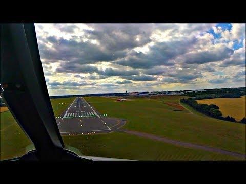 PILOTS VIEW - Airbus A321 Timelapse Arrival at London Luton, LTN