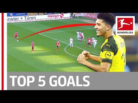 Top 5 Goals on Matchday 23 - Sancho, Grifo, Götze& More