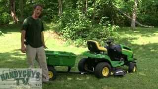 John Deere Lawn Tractor Accessories