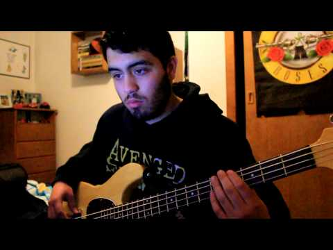 Black Veil Brides - In The End [Bass Cover]