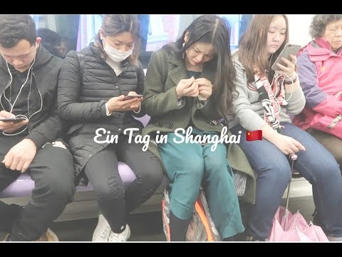 ein tag in shanghai - Metro, café und french concession