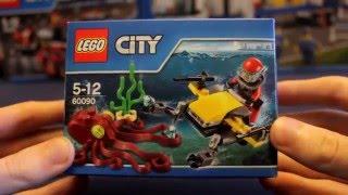 конструктор Lego Deep Sea Scuba Scooter 60090