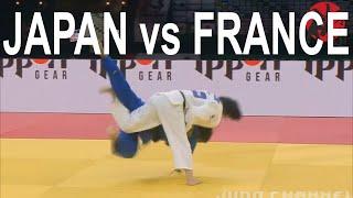 Final Japan vs France Judo World Championships 2021