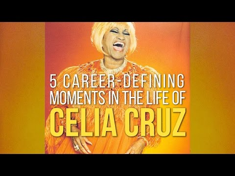 #FunFacts: 5 Career-Defining Moments in the Life of Celia Cruz