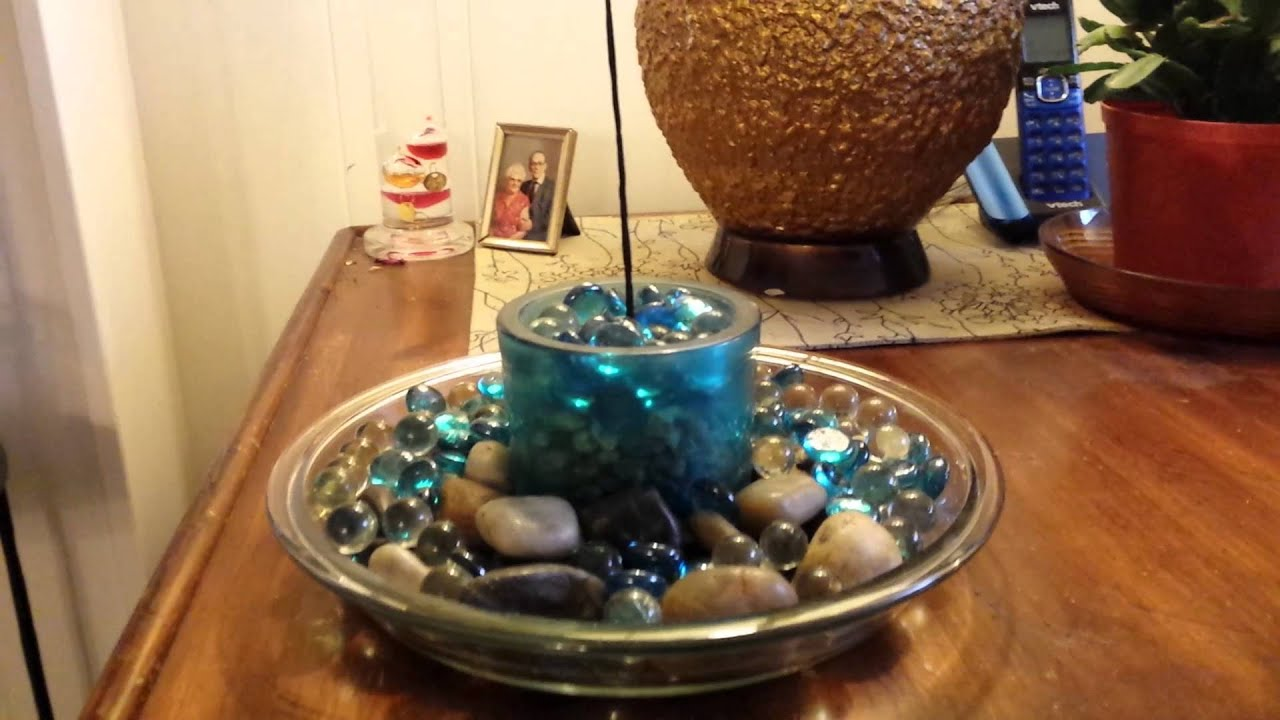 How to make a Homemade incense holder - YouTube