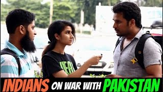 Does India Wants Another War With Pakistan ? (Public Reactions)