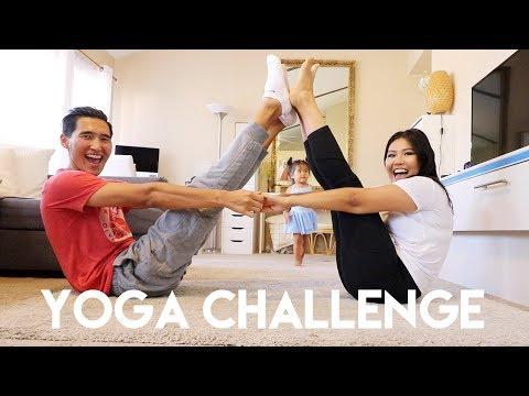 COUPLES YOGA CHALLENGE | The Mongolian Family