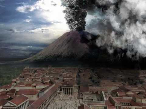 Resultado de imagen de imagen Vesubio pompeya
