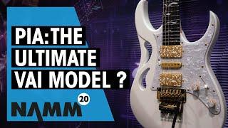Ibanez NAMM 2020 | New PIA Series & RG models | Steve Vai | Thomann