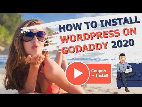 GoDaddy WordPress Install Tutorial Made Easy For Beginners (2020)
