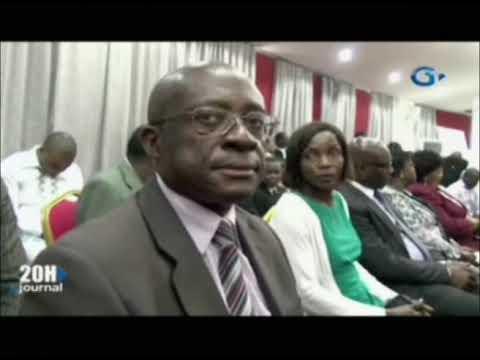Cérémonie d'installation des responsables de Gabon Télévision et Radio Gabon présidé par le Mi