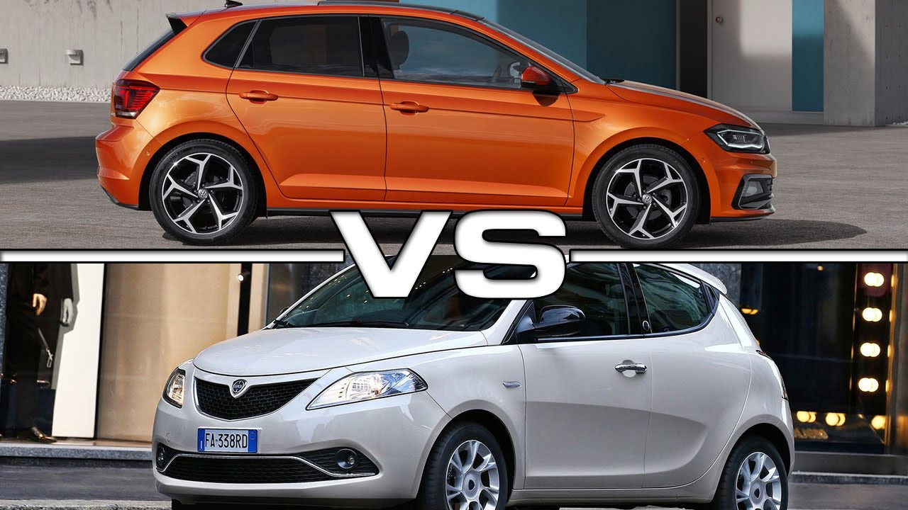 Lancia Ypsilon 2018 >> 2018 Volkswagen Polo vs 2017 Lancia Ypsilon Mya - YouTube