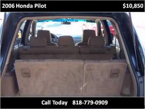 2006 Honda Pilot Used Cars Van Nuys CA