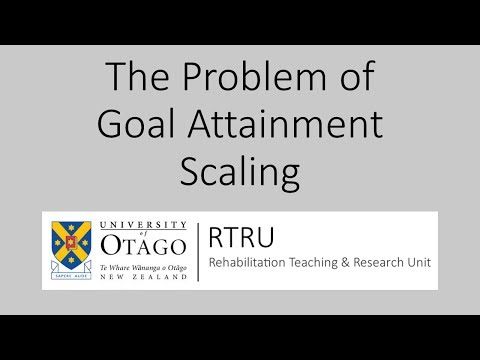 The problem of goal attainment as an outcome measure