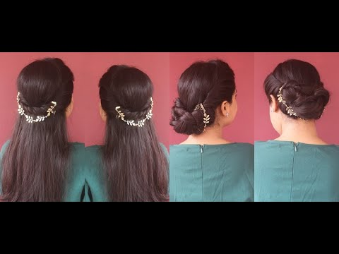 two-easy-hairstyles-for-beginners|step-by-step|how-to-accessorize-yor-hair|asmita