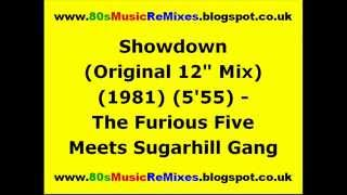 "Showdown (Original 12"" Mix) - The Furious Five Meets Sugarhill Gang"