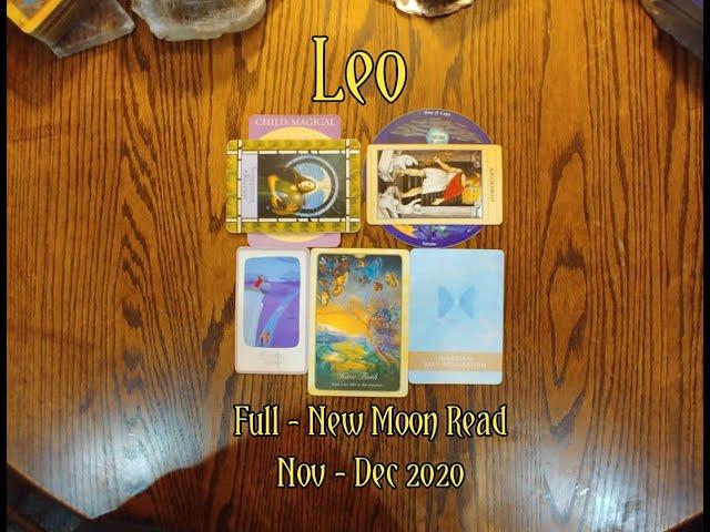 LEO: FULL - NEW MOON 7 CARD DRAW= NATURE + SURRENDER & RELEASE REVENGE - NOV-DEC 2020