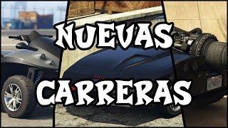 【 GTAV】 ¦ ¡¡PROBANDO 3 CARRERAS NUEVAS!! ¦ BIGFOKU