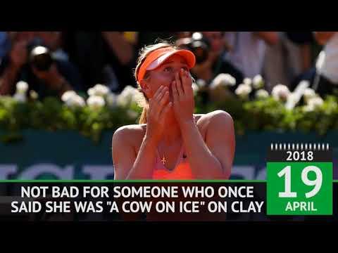 Happy birthday! Tennis star Maria Sharapova turns 31