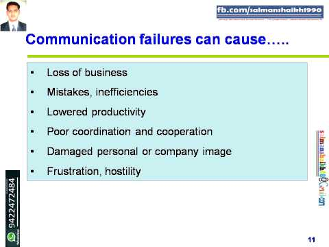 11 Causes Of Communication Failures