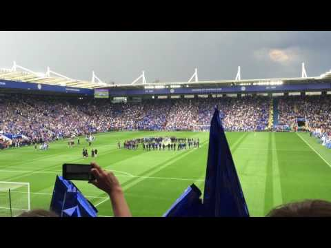 Leicester City Premier League Champions 2016 v Everton - A Fans View