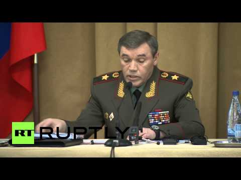"""Russia: """"Military observers sent to Donetsk to work with OSCE,"""" confirms General Gerasimov"""
