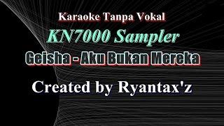 karaoke geisha aku bukan mereka kn7000 sampler