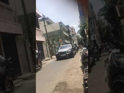 Rolls Royce at chennai road - YouTube