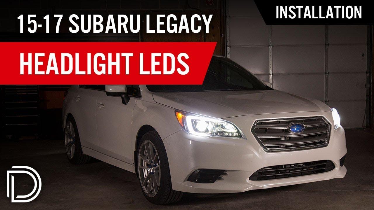 How to Install 2015-2019 Subaru Legacy Headlight LEDs | Diode Dynamics