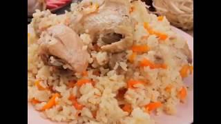 Сегодня на ужин у меня плов с курицей 😋🍚 Это мой вариант плова, нежирный, не сухой, эту версию