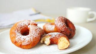 Okara Snack Donuts w/o eggs おからドーナツ 栄養満点 卵なし ホットケーキミックスで作る