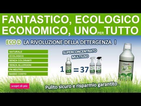 ecoD   Fantastico Detersivo Ecologico, Economico, Detergente Naturale uno per tutta la casa