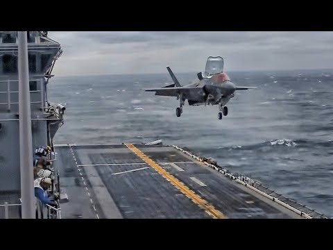 First Operational Shipboard Deployment Of F-35B Fighter Jet