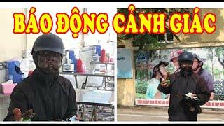 Xôn xao nhóm người bôi mặt đen, tay cầm đầ.u gà xin tiền ở Hà Nội
