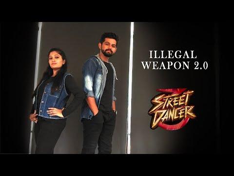 Illegal Weapon 2.0 Dance Video | Street Dancer 3D | Pooja Pattani Choreography |