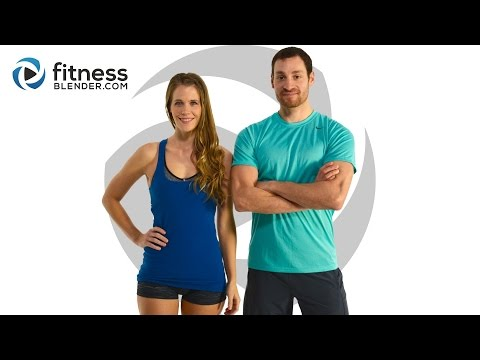 Brutal HIIT Cardio & Abs Workout + Pilates Burnout - 5 Day Challenge - Strong and Lean - Day 3