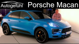 Porsche Macan Facelift REVIEW Exterior Interior 2019 - Autogefühl