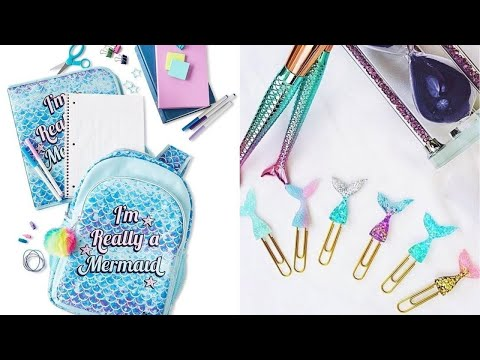 Top 3 Mermaid Back To School Crafts I DIY School Supplies I Back to School with DIY Lover! #7