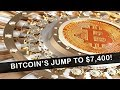 BITCOIN JUMPED TO $7,400! (Watch out for FOMO!!!)
