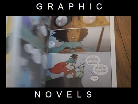 THE WEEK OF GRAPHIC NOVELS #2 [2017 books 39-48]