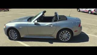 Quick Look 2017 Fiat 124 Spider Lusso and Abarth Media Drive