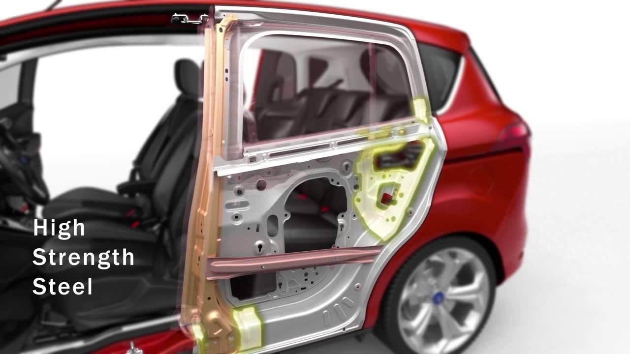 Ford B Max Rear Sliding Door And Integrated B Pillar