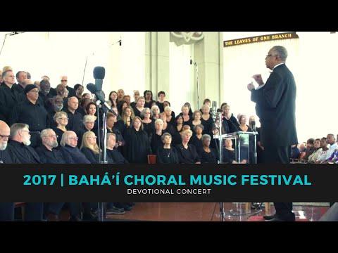 2017 Bahá'í Choral Music Festival Devotional Concert 12:30pm