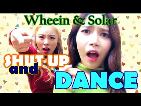 Wheein & Solar | Shut Up Laugh Rap and Dance